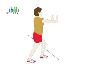 ورزش کششی آشیل پا