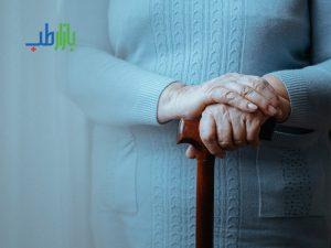 عصا نگهداری از سالمندان