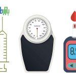 کاهش وزن دیابت