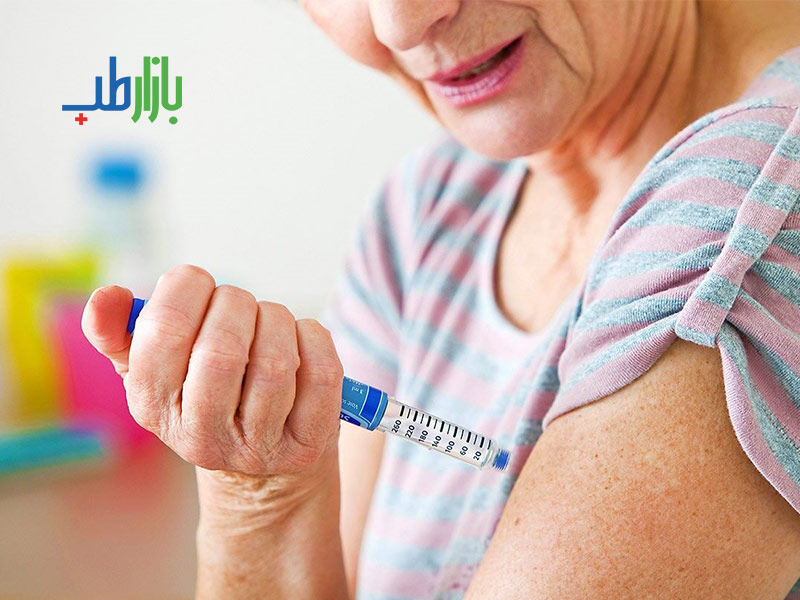 روش تزریق انسولین