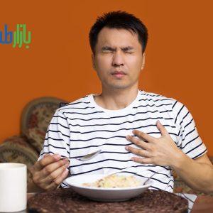 سرفه پس از غذا