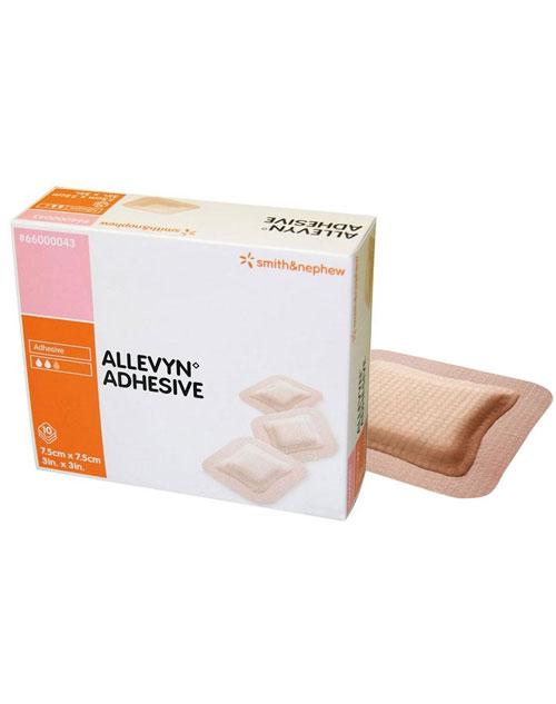 پانسمان فوم هیدروسلولار الوین چسبنده-Allevyn-Adhesive