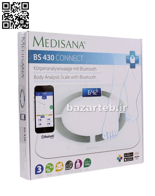 ترازو دیجیتال -BS 430-مدیسانا