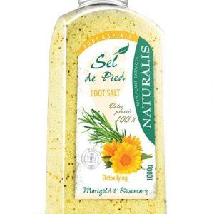 نمک مراقبت پا گل همیشه بهار و رز ماری نچرالیس