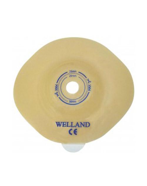 چسب پایه کانوکس قابل برش با حلقه اتصال 70 وللند Welland Ostomy Bag