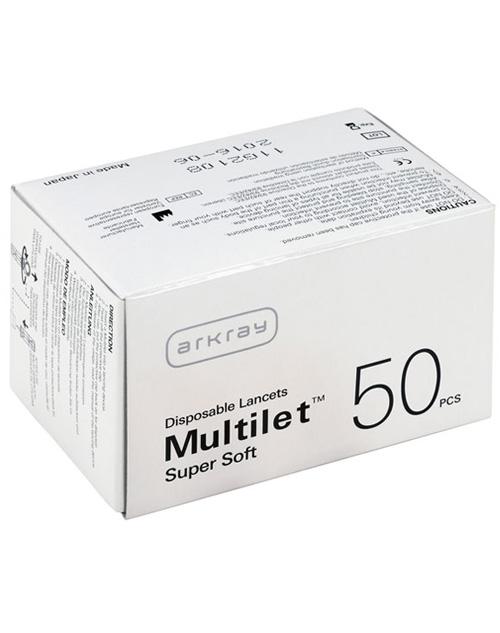 سوزن لنست 50 تایی Multilet Supersoft