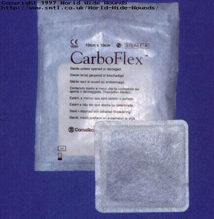 پانسمان کربن فعال کربوفلکس کانواتک