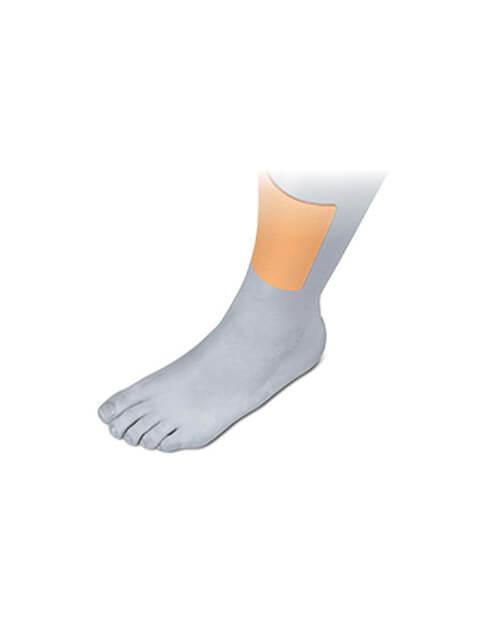 محافظ سیلیکون ژل ساق پا مربعی پریم مدل CC332 - CC352