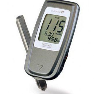 دستگاه اندازهگیری قند خون گلوکوکارد 01