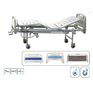 تخت بستری دو شکن مدل P110