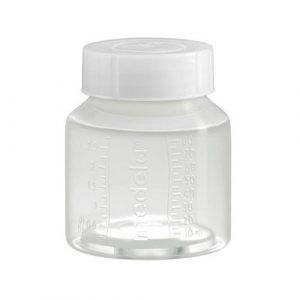 شیشه استریل جهت نگهداری شیر 80 میلی