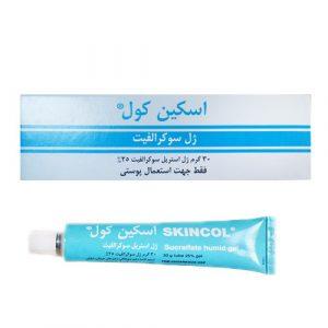 ژل استریل سوکرالفیت اسکین کول Skincol Sucralfate Humid Gel