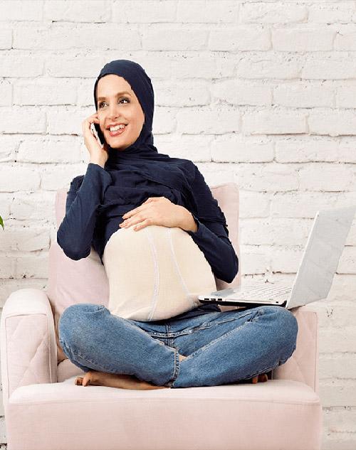 شکم بند بارداری ضد امواج تنکو