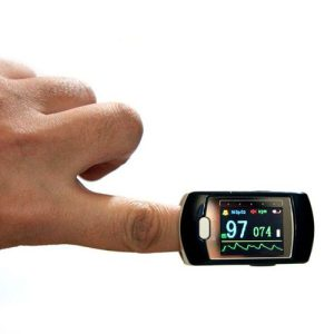 پالس اکسیمتر انگشتی زیکلاس مد مدل CMS50D1
