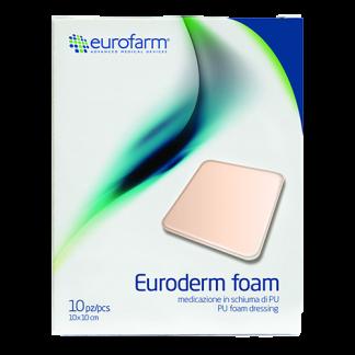 پانسمان فوم بدون چسب فوم پلاس یورودرم