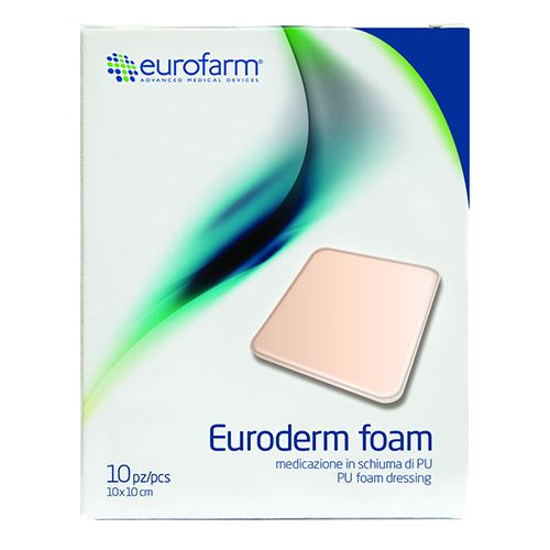 پانسمان فوم چسبدار فوم پلاس یورودرم یوروفارم
