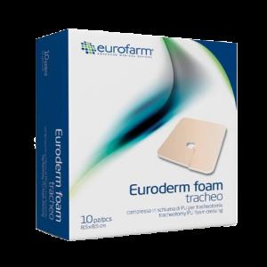 پانسمان پیشرفته فوم یورودرم تراکستومی یوروفارم