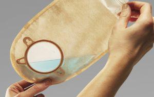 کیسه یک تکه شیردار یوروستومی آکس مد