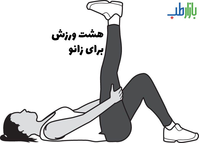 ورزش زانو