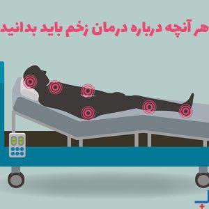 هر آنچه درباره درمان زخم باید بدانید