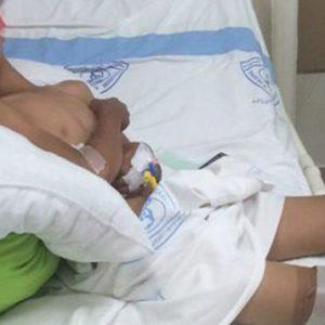 مانع از قطع پای کودک